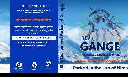 Dear Friends, We Umapati Mineral Corp. Pvt. Ltd. proudly announce to World Wide launch of Holy Gangajal as Packaged Drinking Water 1st timeBrand is GANGA TOYAM for Puja purpose and DEV GANGE as Packaged Drinking Water for our day today life. We are