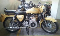 Make: Royal Enfield Year: 1984 Condition: Used Diesel Bullet 500CC Average : 90 KMPL Mfg. Year : 1984 Excellent Condition. Clear documentation (on paper Diesel) Nitrox Suspension. Central security locking with two remotes. Total renovation done on Jan