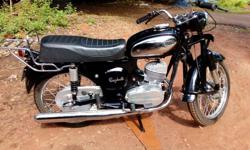 Electronic Rajdoot 175 for sale. Mint Condition. Goa registration. Restored by an experienced mechanic. Good mileage. Good Tires. All work has been done. Half kick start no starting problem since it is Electronic (no points). Motorcycle restored