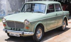 Fiat Premier Padmini 137 D - 1995 Model - Diesel Fuel - Electric Green Colour - Very Good Seating's - Good Mileage - Hyderabad Number - Very Good CEAT Tyres - Good Engine Condition - For Sale Immediately. NO AC Please Price Slightly Negotiable.