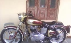 ?????: 1,974 ??????: 1,500 ????????? ??? ????: 1974 ??????: ????? Fully modified Royal Enfield 1974 Modified; INTO 62 MODEL, 4-Speed - For SALE same condition as shown in fig,after modified it run only 1500km...... if u r interested cont. on 09713667362 n