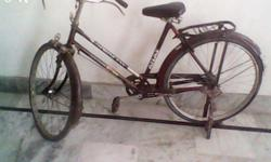 Cycle is in good condition, currently not in use but maintained properly 18-20 inches with capability of adjustments Selling since now we have scooty Price are lowest abd fixed so please dont bargain