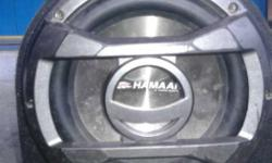 Hamaan hm-8aw super subwoffer for cars full bass