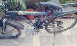 Hercules act 104 max bicycle with 18 speed gearbox ;working condition; maintainance required