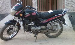 Urgent sell my bike black and red colour of my bike