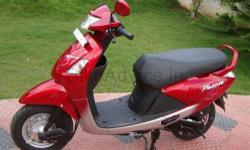 I HAVE A SCOOTY SINGLE OWNERED RED COLOUR JUN 2008 MODEL FOR SALE CONTACT-9304294041