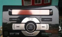 Never used brand new Honda city car music system worth 15000 you can enjoy your music through USB, FM AM and also with auxiliary cable if anyone interested please contact price is negotiable