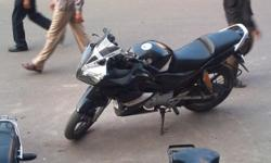 I have a 2 year old Honda Stunner Black Color . Modify with Yamaha r15. Great More Featurs. I am selling this only at 55000 /- . . It means you have a r15 with great look and features and it gives you average 55 km Pr Ltr. Have a look in photo Please
