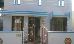 Two bedroom individual house at cuddalore near employment office. 1200 sq ft plot, built in area 800 sq ft