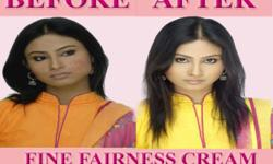 BECOME 100 TIMES FAIRER THAN U ARE NOW? ARE U READY TO EXPERIENCE THE FAIRNESS OF FINE FAIRNESS CREAM BY UR BEFORE AND AFTR CHANGES NOTE: LOOK BEAUTIFUL AND HANDSOME WITH IN ONLY 7 DAYS RESULTS STARTS FROM 3 RD DAY ONWARDS NO CHEMICAL *no side effects