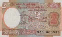 Hi indian 2 two rupess Note.......