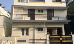 individual Duplex House constructed on Yogam nagar main 40 feet corner plot. Plot area 1200 Sq feet and constructed area Ground floor and first floor together 1500 Sq.feet. Ground floor provided with a spacious car park , internal stair case with granite