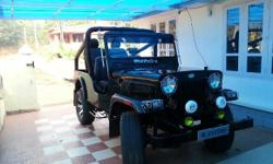 I have Mahindra jeep for immediate sale. From steering to tyres everything is new. Expected price -220000. Call now @ 9526555222.
