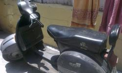 single hand driven scooter, in excellent condition.....all lights and blinkers in working condition ....model 1996.... meter reading 36465 till date....no accident till date
