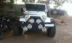 Model: Other Mileage: 60,000 Kms Year: 1999 Type of car: Sport Utility Vehicle (SUV) Condition: Used Mahindra Armada Grande 1999 Model Modified like MONSTER TRUCK.It has got Power Steering,Power Windows,Central Locking,New Metallic Silver Paint Job,4
