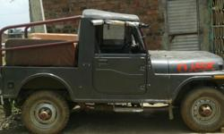 Mileage: 16 Kms Year: 1958 Condition: Used mahindra D i jeep 1958 antic pees