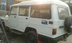 Mahindra $ mahindra maxx siter best condition one owner for sell