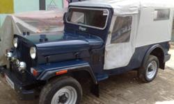 Model: Other Year: 1996 Condition: Used Mahindra jeep major 1996 model very good condition new tyres new seats new colour