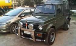 ??????: 18 ????????? ??? ????: 1998 ????? ???: ???????? ??????? ???? (SUV) ??????: ??? Maruti Gypsy king make 1998 EngineToyota2C TURBO Diesel with hydrolic cluch, power brake brand new appoloradialtyres withchromealloys. full vehicle painted from maruti