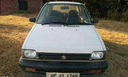 Maruti Suzuki 800 petrol 18000 Km driven 2012 model with center locking in verry well condition.. location..anni dalash kullu himacha pradesh