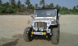 Ex- Army jeep only 900km run, silver paint, 4WD Well maintained.