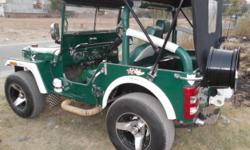 ????: Willys ?????: Jeep ??????: 20,000.00 ????????? ??? ????: 1979 ????? ???: 2-???? ??????: ????? Hi i am selling modified jeep with very good condition .Model 79 , good tyres , 90 percent tyres .Eveything is very nice.For enquries call 8872855566.