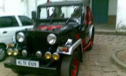 ????: Jeep ????: 1990 ????? ???: 2-???? ??????: ????? Modified Mahindra jeep 1990 model for sale all paper clear. power steering,jipsy wheel & Other extra's