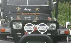 new turbo engine,new tyer, fully modified Jeep,