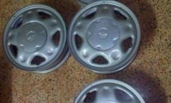 Brand New 14 Inches Steel Wheel Rims taken out from my Chevrolet Beat for sale. I replaced them with Alloys. The PCD is 100 & these can be fitted on to any car matching 100 PCD & 14'' RIm Diameter. Please note that these have been only used for 40 KMS.
