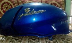 (Fixed price)Newly scractchless blue colour pulsar 180 fuel tank at least price.
