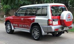 Pajero sfx 2009 4X4 All Original Red White Colour UP Number NOC Available Registered in Noida Car in best condition Car available in Chandigarh Bargain on table