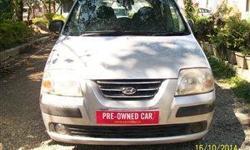 Description 2003 Hyundai Santro Xing [2003-2008] XO eRLX - Euro II for sale in Dehradun. The Silver Petrol Hyundai Santro Xing [2003-2008] XO eRLX - Euro II has done 57000 kms. Asking price is Rs.1,85,000 Vehicle features Model Hyundai Santro Xing Colour