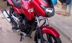 I have red pulsar 150cc If your interested to buy this call me at this no 8900439884