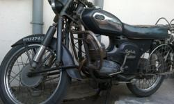 'Rajdoot'! One of the most famous & favourite bike of the Indians since the 70's by the 'Escorts' company and later taken over by 'Yamaha'and now it's rarely seen on road. How innovative were the Escorts company to produce a bike of that type in those