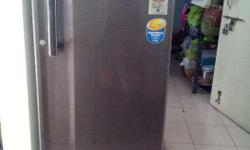 Refrigerator, LG 190 ltrs. 5 star, 135V-290V fluctuation protected, Energy Efficient 2yrs old in very good condition. Additional PVC Stand high quality available at additional price of Rs.600/-.