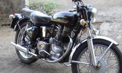Bullet 350 CC, 1st Owner, Original Papers, Model 1980, Avg 35 Km/Ltr Standard Black Color, Well Maintained, Single Handed, Still in use