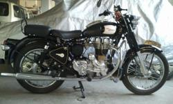 ROYAL ENFIELD standard 350 is for sale in jamshedpur. the features of the same are mentioned below... Original classic 350 look, newly fitted head and block, newly assembled gear box, setup four clutch plate, original fit and finish of the classic 350