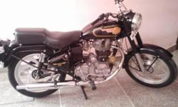 BULLET 350 (STANDARD) WITH GEAR ON RIGHT SIDE AND BREAK ON LEFT SIDE IN A SUPERB CONDITION FOR SALE..MODEL - AUG 2010 , KM - 8000 . FIRST HANDED ... PASSIONATE PEOPLE MAY CONTACT.. NOTE - FIXED PRICE ..CASH PAYMENT CHEQUE WOULD NOT BE ENTERTAINED ..