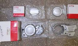 5 speed covers suitable for all rx models rx100 rx135 rxz Rxz 5speed / Rx135 5 speed clutch n maganet cover Interested only can call me or whatsapp me at 08792five65834.