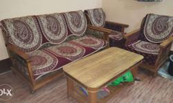 Sagon ki lakdi ka heavy sofa set matr 22500/- me