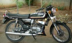 I want to Sale my Rx 100 in Black Colour,Rgsn Date-1995,Milg-40km/lt,Kolktata Number.Just Rs/-14,000