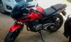 Make: Bajaj Model: Other Mileage: 8,500 Kms Year: 2013 Condition: Used Bajaj pulsar 220 f latest model 2013, cocktail wine red colour, self driven, have done only 8,500 kms, showroom condition at North Lakhimpur. Price : Rs. 79,000 . If Anyone interestd