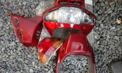 Suzuki fiero parts Front and back light assembly Front viscor, Right side shrowds, Rear cover. Urgent sale