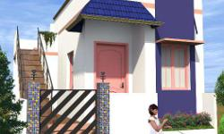 Total 1,100 villas Five types of villas 3L (1BHK), 4.5L (1BHK), 6L (1BHK), 8.5L (2BHK), 12L (2BHK) lakhs 375, 600, 720, 1200 sqfts Attach Bathroom, Parking Area, near by school, collage, ration shop, bus stop & ext...,