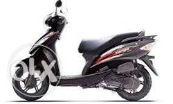 New model tvs wego in good running condition well maintaines with resistration AR 01 H mobile no.940294122nine.