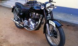 I have old 1969 model bullet with showroom condition, am interested 2 sale dhis bike. SPECIFICITION: -G2 engine fully worked, painting, plating, new 12v battary and wireing kit, old mugard, wheel hub, toolbox etc.... Those who intersted contact to this no