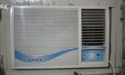 Voltas Vertis Premium Window Air Conditioner 2 Ton A.C, 6 year's old Good running condition with working remote control. No star rating.