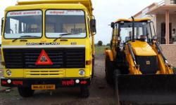 Make: JCB Model: Other Year: 2013 Condition: New I have JCB 3DX Machine and ashok leyland 6 wheeler tipper, Both are new. Want to give these all on rent basis.