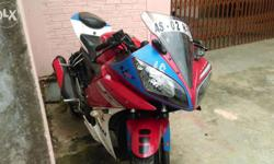 The bike was supreav condision and good mantiend and geneun moto so if ane one intreasted then frist u come and u cheak the bike and then u byr
