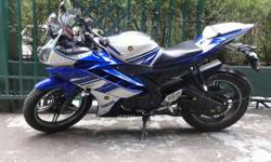 YAMAHA R15 v 2..model 2014..km 25600..sk number..good condition..blue book.insurance 2017..only intrested person cn contact me..no fake cl..no bargain..free helmet..I want to buy bullete